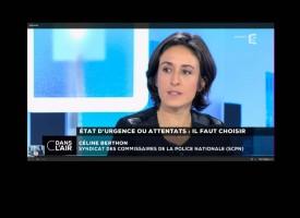 """France 5 """"C Dans l'air - Etat d'urgence ou attentats : il faut choisir"""""""